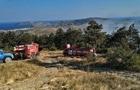 У Криму сталася масштабна природна пожежа