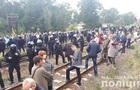 На Львівщині знову заблокували залізницю