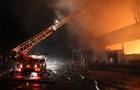 В Киеве горело офисное здание