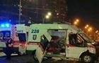В Киеве  скорая  с ребенком попала в ДТП, двое погибших