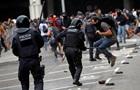 Протесты в Каталонии разгоняют резиновыми пулями