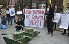 Під посольством Туреччини в Києві протестували проти нападу на Сирію