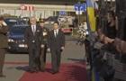 Зеленський проводить зустріч з президентом Латвії