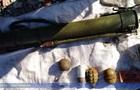 На Луганщині знайшли дві схованки зі зброєю сепаратистів  ЛНР