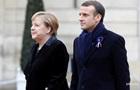 Макрон и Меркель обсудили ход минских соглашений