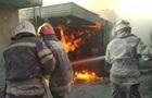 На Луганщине произошел крупный пожар на АЗС