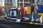 В Одесі 30  тітушок  порізали прапори України та Ізраїлю - ЗМІ