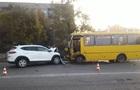 У Миколаївській області маршрутка потрапила у ДТП: 11 постраждалих