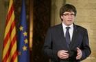 Екс-лідер Каталонії Пучдемон здався владі Бельгії