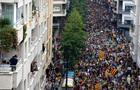 Столкновения и забастовки парализовали Барселону