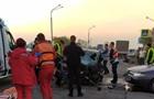 В Днепре столкнулись четыре автомобиля, погиб полицейский