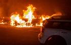 В Днепре сгорели четыре автомобиля