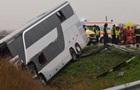 У Румунії автобус з українцями потрапив у ДТП