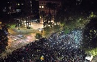 В Барселоне прошла акция протеста с воздушными шарами