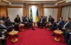 Зеленский встретился с президентом Бразилии