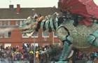 Во Франции создали 72-тонного дракона