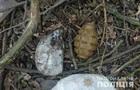 У Вінницькій області знайшли рюкзак з гранатами