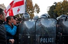 Протести в Грузії: шістьох людей поранено і близько 40 затримано