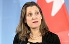 У Канаді змістили Фріланд з посади глави МЗС