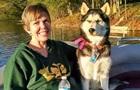 Пес рознюхав рак у господині і врятував їй життя