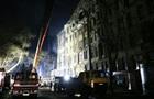 Пожар в Одессе: спасатели ночью разбирали завалы