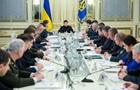 Зеленський проводить засідання РНБО перед Парижем