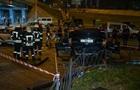 Автомобиль упал с моста в Киеве