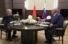 Переговори Путіна і Лукашенка тривали майже шість годин