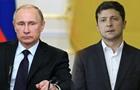 У Путина обозначили цель встречи с Зеленским