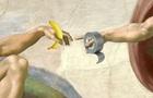 Инсталляцию с бананом и скотчем высмеяли в сети