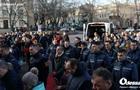 Пожежа в коледжі: Одеса прощається з померлим рятувальником