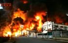 Поруч з Барселоною горить завод: є ризик витоку токсичних речовин
