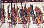 На Донбасі у пенсіонера вилучили 17 одиниць зброї