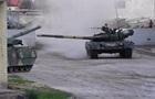 Дрифт украинского танка Т-80 попал на видео