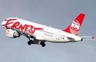 Лоукост Ernest Airlines приостановит полеты в Украину по трем маршрутам