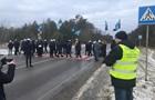 На Львівщині шахтарі перекрили міжнародну трасу