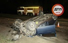 В Киеве автомобиль вылетел на встречку: один человек погиб