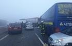 Под Одессой столкнулись 11 авто, есть жертвы