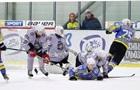 Хоккеисты устроили массовую драку во время матча Днепр - Ледяные волки