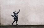 Анонимный художник Бэнкси создал  валентинку