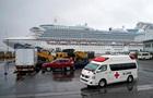 Кількість хворих на лайнері Diamond Princess перевищила 500 осіб