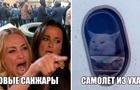 Эвакуация: в сети появились фотожабы на протесты