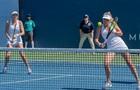 Сестры Киченок не смогли выйти в полуфинал парного турнира в Дубае