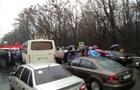 Въезд в Киев со стороны Одессы заблокирован