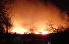 В заповедных плавнях под Одессой возник пожар