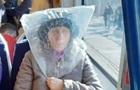 У мережі сміються над  оригінальним  захистом італійки від коронавірусу