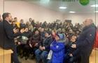 Поліція евакуювала  слугу народу  із зустрічі з виборцями