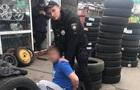 В Мариуполе пьяный водитель напал на копов
