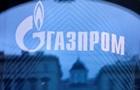 Газпром знизив видобуток газу за місяць нараз 20%
