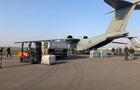 Украина отправила в Рим самолет с гумпомощью